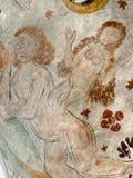 Eve se crea de costilla del ` s de Adán fotos de archivo