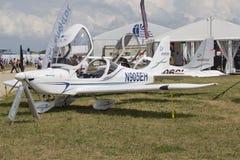Evektor światła sporta samolot Zdjęcia Royalty Free