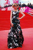 Evelina Khromchenko at XXXVI Moscow International Film Festival Stock Images