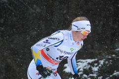 Evelina Settlin - Cross Country-Skifahren Stockfotos