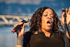 Evelyn Champagne King Royalty Free Stock Images