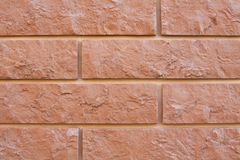 Even decorative brick wall background Stock Photo