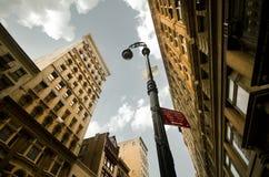在SoHo的步行 免版税库存图片