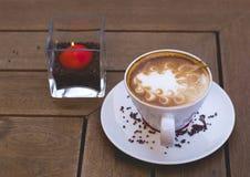 evenening的咖啡 库存图片