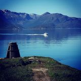EVENES fjord Royalty Free Stock Photography