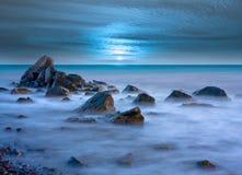 Evenig en el mar Imagen de archivo