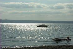 Evening. On the Garda Lake Stock Images