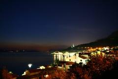Evening Adriatic sea Stock Photos