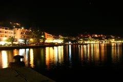 Evening Adriatic sea Stock Images