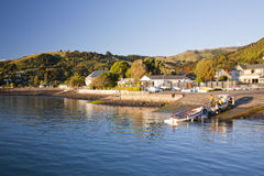 Evening at Akaroa Stock Photography
