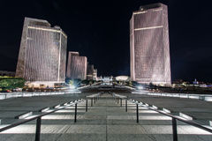 Evening along the Empire State Plaza stock photography