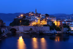 Evening in Amasra, Turkey Royalty Free Stock Image
