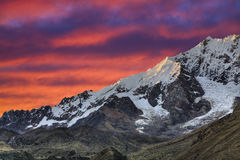 Evening in the Andes Royalty Free Stock Photography