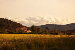 Free Evening At The Provence Stock Photos - 14948403