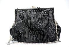 Evening bag isolated on white Stock Image
