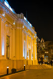 Evening on Baku streets, building of the puppet theater Stock Photo