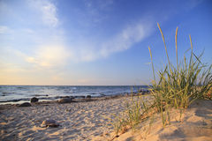 Evening on the Baltic Sea Royalty Free Stock Images