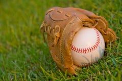 Evening Baseball Royalty Free Stock Images