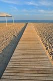 Evening beach Stock Photo