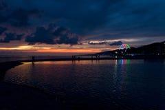 Evening on the beach Stock Photo