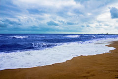 Evening beach Royalty Free Stock Images