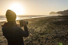 Evening Beach Photos Royalty Free Stock Photography