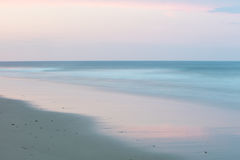 Evening Beach Scenery on Cape Cod Royalty Free Stock Photography