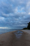 Evening on the beach at Stenshuvud National Park Royalty Free Stock Photos