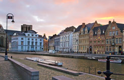 Evening in Belgium Stock Images