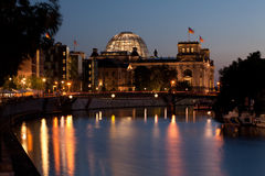 Evening in Berlin Stock Photos