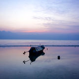 Evening Boat stock image