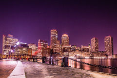 An evening in Boston Stock Images
