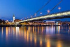 Evening in Bratislava, Slovakia Royalty Free Stock Image