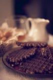 Evening breakfast Stock Image
