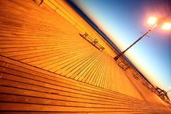 Evening in Brighton Beach of Coney Island, New York, USA Stock Image