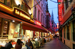 Evening Brussels. Royalty Free Stock Photos