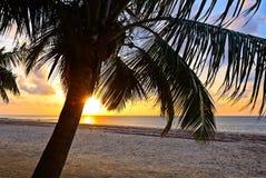 Evening brzegowego Diani Zdjęcie Royalty Free