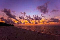 Evening brzegowego Diani Fotografia Royalty Free