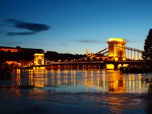 Evening in Budapest. Stock Image