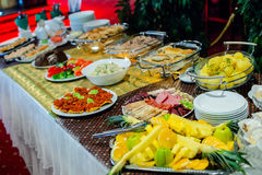 Evening buffet Royalty Free Stock Photo