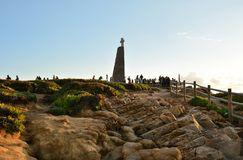 Evening at Cabo da Roca Royalty Free Stock Image