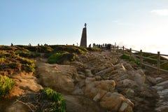 Evening at Cabo da Roca Royalty Free Stock Photo