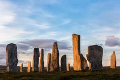 Evening at Callanish Royalty Free Stock Image