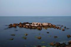 Evening calm sea Royalty Free Stock Photos