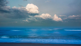 Evening calmness on the beach Royalty Free Stock Image