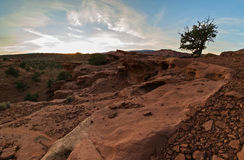 Evening, Capitol Reef Royalty Free Stock Image