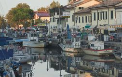Evening in Cervia Royalty Free Stock Images