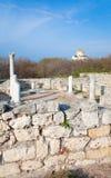 Evening Chersonesos (ancient town) Stock Photos