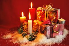 Evening before Christmas Royalty Free Stock Images