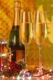 Evening christmas Card Royalty Free Stock Photos